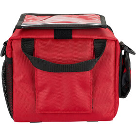 Red Cycling Products E-Bike Deluxe Bolsa Manillar, red